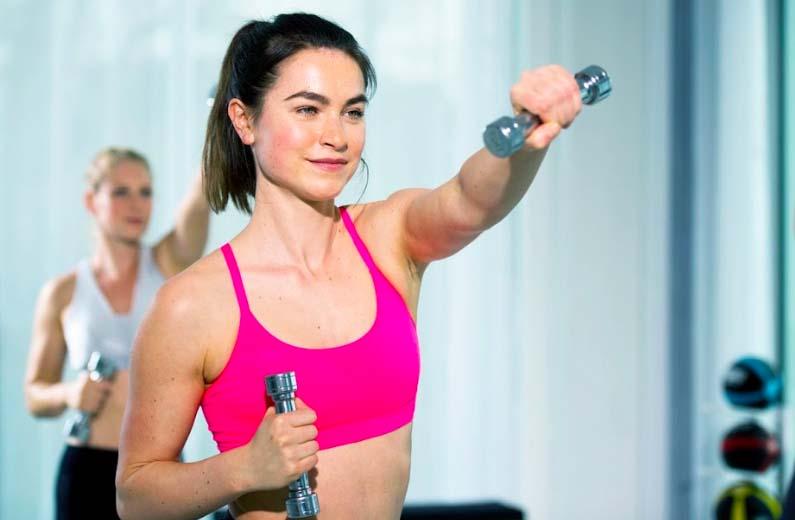Trainingsgeräte Fitnessstudio