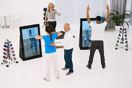 Digital support and relief for therapists: Patients of a physiotherapy practice train digitally with Pixformance